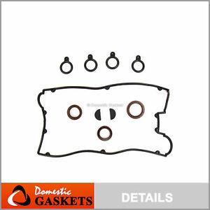 Valve Cover Gasket Seals Fits 93 99 Mitsubishi Eagle Plymouth 4g63 4g63t 2 0l