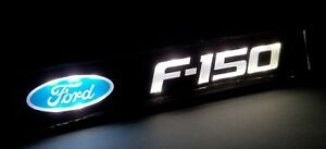 F150 Led Logo Light Car For Front Grille Badge Illuminated Decal Sticker