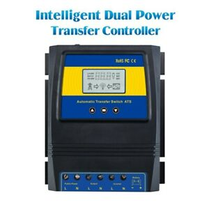 Automatic Dual Power Transfer Switch Solar Charge Controller Solar Wind System