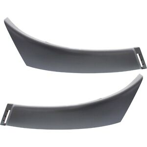 Bumper End Caps For 2005 2012 Toyota Tacoma Set Of 2 Front Primed