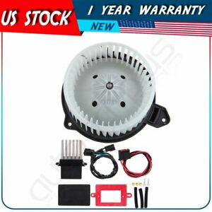 Hvac Heater Blower Motor And Resistor For 2002 2004 Jeep Grand Cherokee