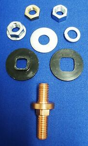 Fits Lincoln Welder Idealarc 250 Tombstone Panel Stud Lug For Weld Leads