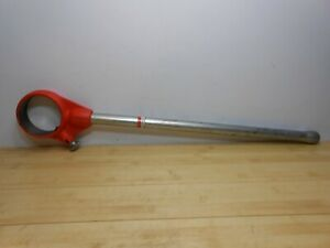 Ridgid 12 r T2 Pipe Threader Die Head Holder Ratchet W Handle Rigid