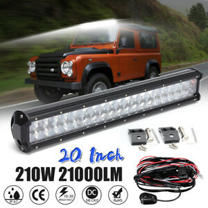 20 Inch 420w Led Work Light Bar Combo Beam Driving Lamp For Truck 4wd Off road