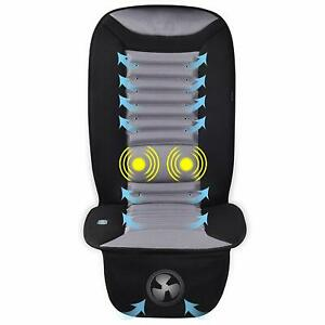 Snailax Cooling Car Seat Cushion With Massage Car Seat Cooling Pad Ac Covers