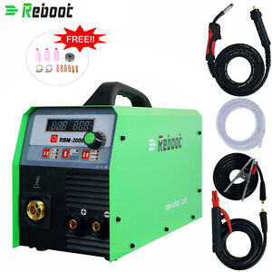 Mig Welder 200a Gas gasless Mig stick lift Tig 4 In 1 Inverter Digital Machine