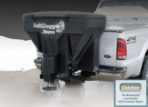 Buyers Salt Dogg Salt Spreader W auger Vibrator Tgs07