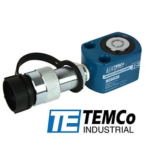 Temco Hc0030 Low Profile Height Hydraulic Cylinder Puck 5 Ton 0 28 Stroke