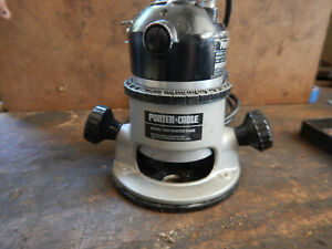 Older Usa Porter Cable Model 100 Router With 1 4 Collet