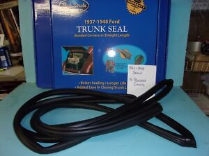 1941 1942 1946 1947 1948 Ford Coupe And Convertible Trunk Decklid Rubber Seal