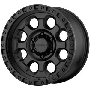 4 american Racing Ar201 16x8 6x4 5 0mm Black Wheels Rims 16 Inch