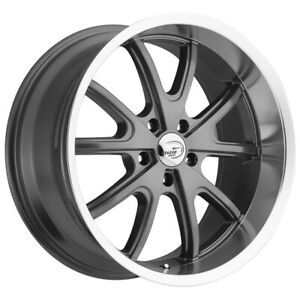 Staggered Vision 143 Torque 18x8 5 18x9 5 5x120 32mm Gunmetal Wheels Rims