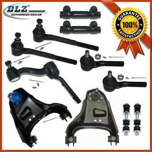 11 Tie Rods Upper Control Arm Sway Bar Link For 1998 2003 Chevrolet S10 4wd