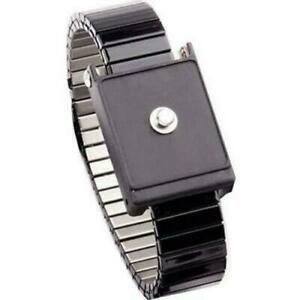 Transforming Technologies Wb6014 Adjustable Metal Wrist Strap With 4mm Snap