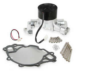 Frostbite Aluminum 35gpm Electric Water Pump Polished For Sbf 260 289 302 351w