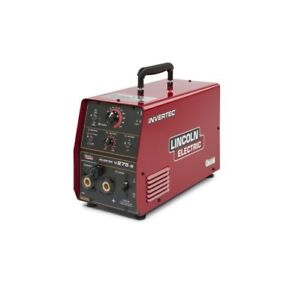 Lincoln Invertec V275 s Tig Stick Welder K2269 1