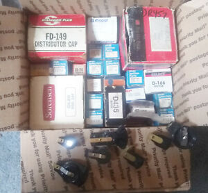 Ignition Lot Condensers Etc Cap Points Rotors