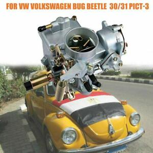 113129029a 30 31 Pict 3 Type 1 Carb Carburetor Replace For Air Cooled Vw Beetle