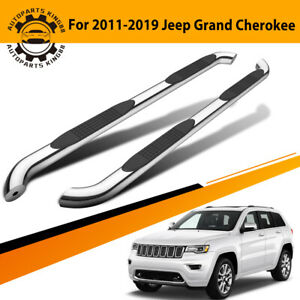Nerf Bars For 2011 2019 Jeep Grand Cherokee 3 Side Steps Running Boards 2 Pcs