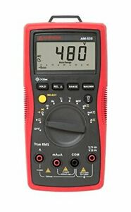 Am 530 Trms Electrical Contractor Multimeter With Non contact Voltage Detector