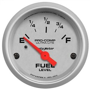 Autometer 4314 Ultra lite Electric Fuel Level Gauge