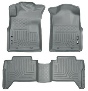 Husky Liners 98952 Weatherbeater Floor Liner Fits 05 15 Tacoma
