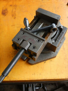 Vr Wesson Compound Grinding Mill Vise With Swivel Base Machinist Tooling Lot M5