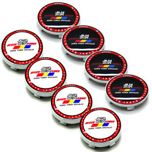 4x 2 36 60mm Car Wheel Center Hub Caps Emblem Badge Rim Cap Fit Mugen Logo
