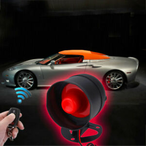 Car Door Locking Remote 2pcs Key Control Alarm Siren System Protection Security