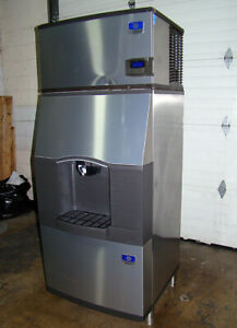 Tested Working Manitowoc Spa 310 Ice Maker 300 Pound Capacity With Storage Bin