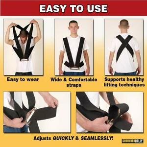 Shoulder Dolly Moving Straps Lifting Strap For 2 Movers Move Lift Carry A