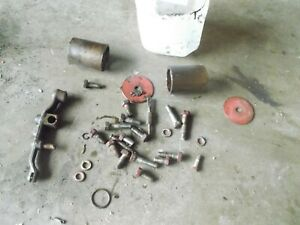 Ford 641 640 Tractor Box Bolts Nuts Parts Pieces Brackets Washers
