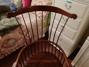 Antique Windsor Armed Chairs Set Of Four Antique Vintage