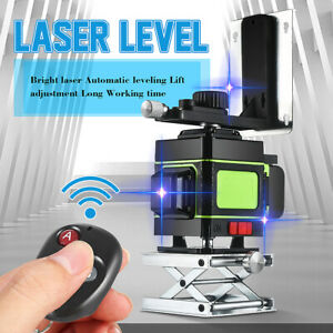Meco 12 Lines Blue Laser Level Cross Line Laser Self leveling Measure Tool Kit