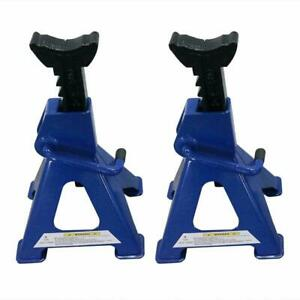 Aluminum Racing Jack Stands 3 Ton 6 000 Lb Pair 1 Heavy Duty Car Truck Auto