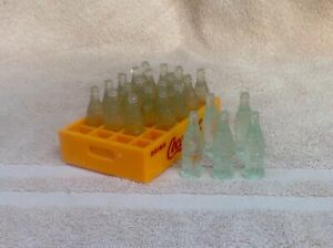 VINTAGE MINIATURE COCA COLA BOTTLES IN FULL CASE  NEW OLD STOCK
