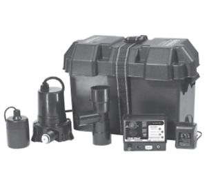 Little Giant Spbs 577400 Sump Pump Battery Backup System