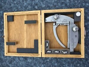 Zeiss Mechanical Xy Stage For Polarizing Microscope In Original Wooden Box