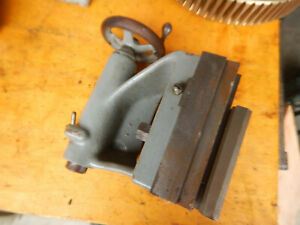 Older Modified Metal Lathe Tailstock Possible Logan Parts Machinist Tool Jig