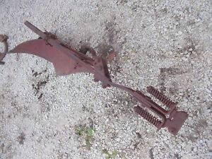 Farmall Ih Cub Tractor 1 Bottom Plow Ih Good Plow Ready To Use Rolling Cutter