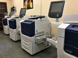 Xerox Color 570 Laser Production Printer Copier Scanner Fiery 70 Ppm 560 550