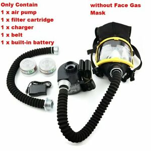 Constant Electric Respirator Flow Air Supply Air Pump Without Face Gas Mask Us