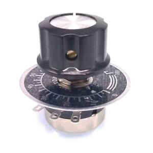 Us Stock 50k Potentiometer Rv24yn 20s B503 24mm With Knob And Digital Scale