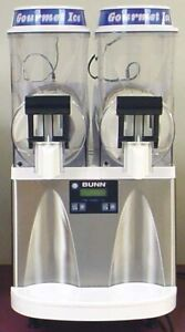 Bunn Ultra 2 Hp Frozen Drink Machine White stainless