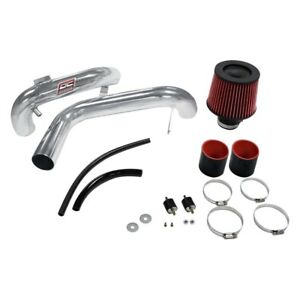 Dc Sports Cai5525 Aluminum Powder Coated Silver Cold Air Intake System