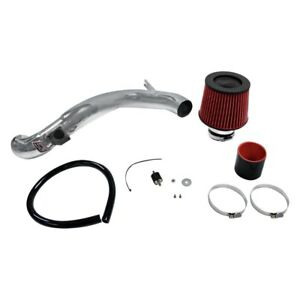 Dc Sports Cai4105 Aluminum Powder Coated Silver Cold Air Intake System