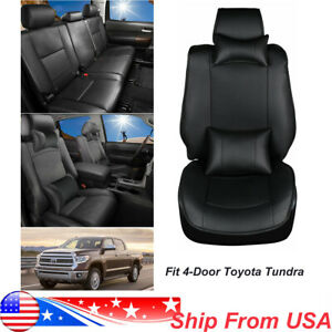 5seats Car Seat Cover For Dodge Ram 1500 2500 2010 2018 Full Surround Cushion Us