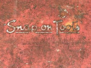 Vintage Snap on Socket Set Tool Box
