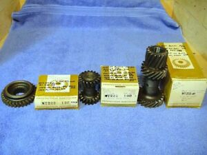 1941 1964 Buick Oldsmobile Pontiac 3 Speed Manual Transmission Gears Nors