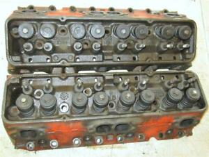3782461 Oem Gm Camel Hump Cylinder Heads Small Block Chevy Corvette Chevelle Wow